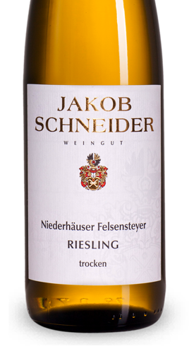 jakob schneider niederh user felsensteyer riesling trocken. Black Bedroom Furniture Sets. Home Design Ideas
