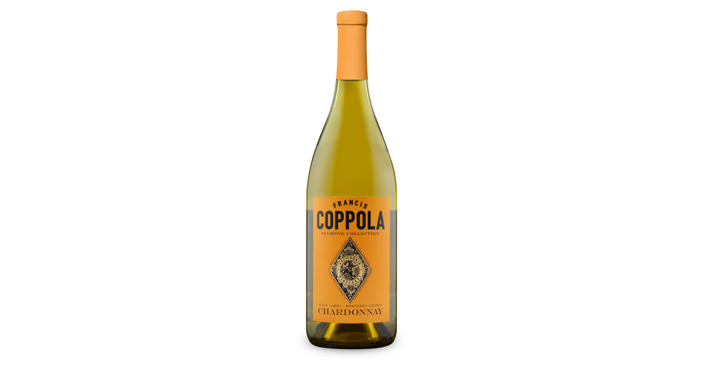It is an image of Challenger Francis Coppola Gold Label Chardonnay